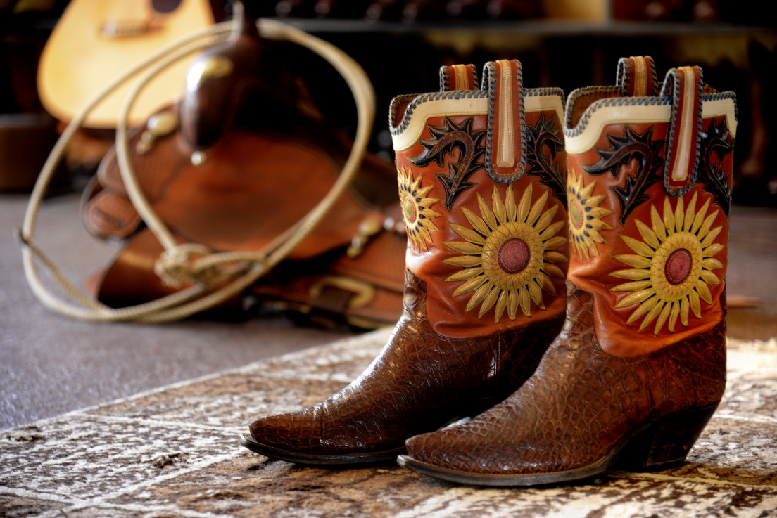 sunflower ladies custom boots
